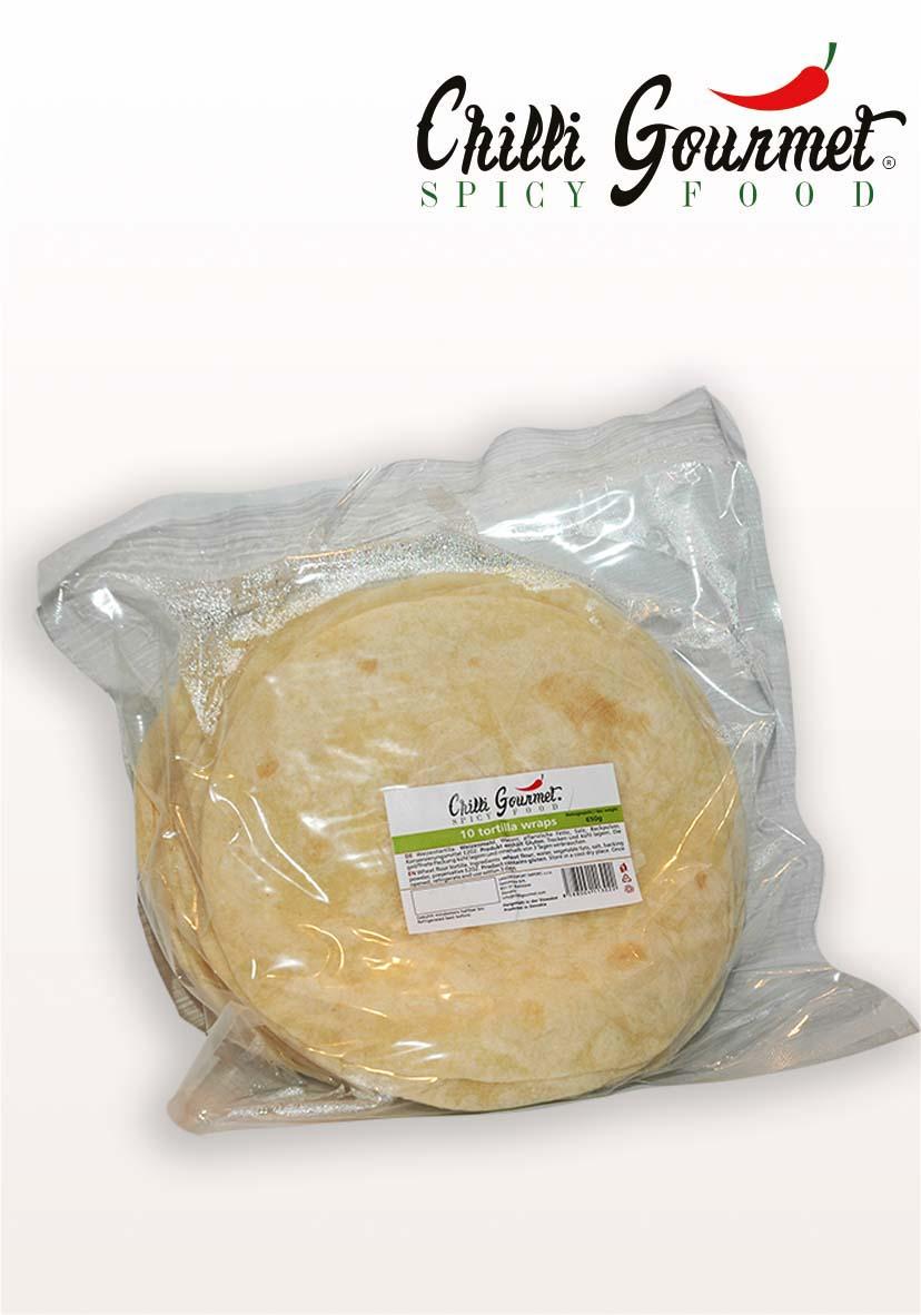 Tortillas Mexican Frozen Food Chilli Gourmet